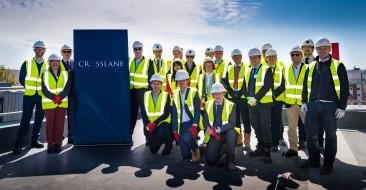Albert Place topping out ceremony