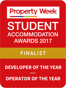 Crosslane shortlisted as a finalist for the Property Week Student Accommodation Awards 2017